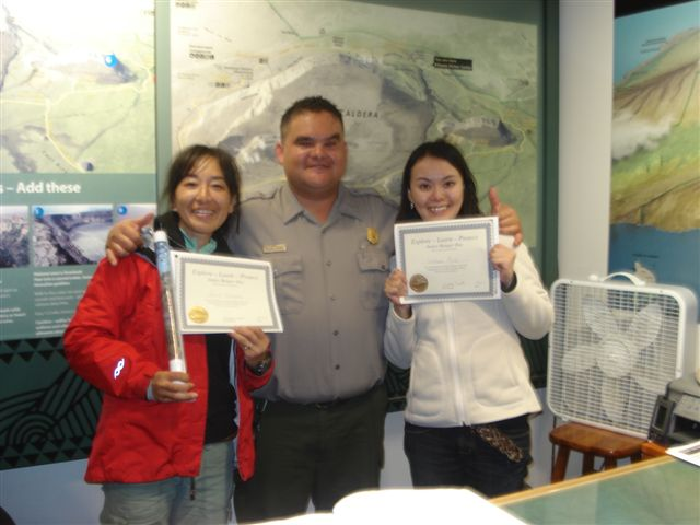 With Park Ranger 2007