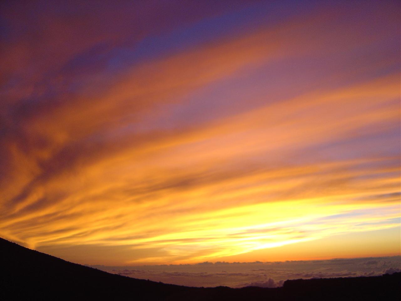 Mauna Kea Sunset 072004