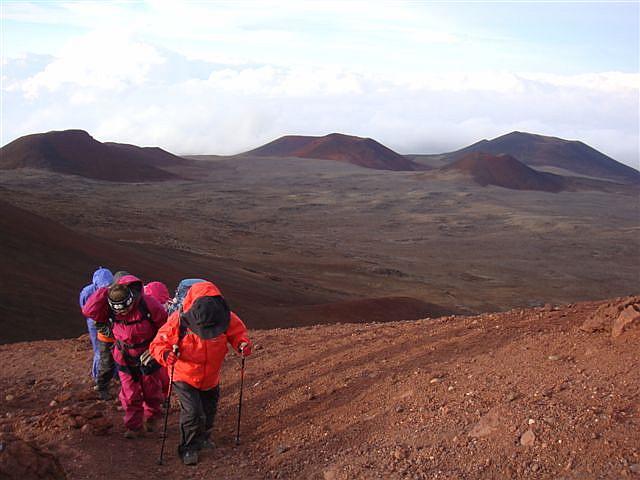 Destination: Summit of Mauna Kea at 4205m (13796ft)