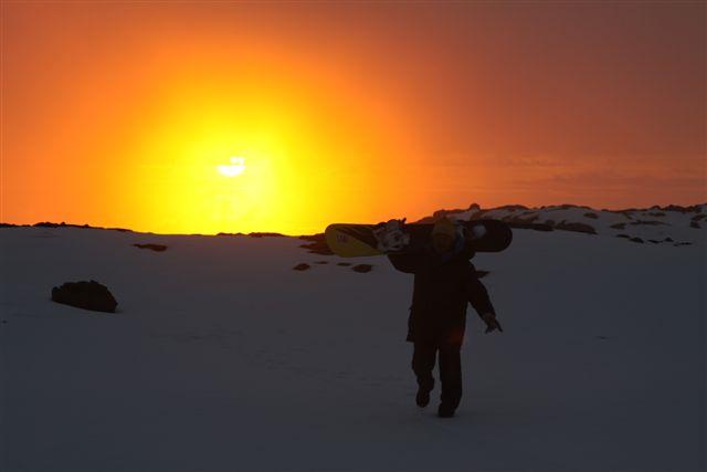 Mauna Kea Sunset 01-2011