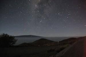 マウナケア星空観察